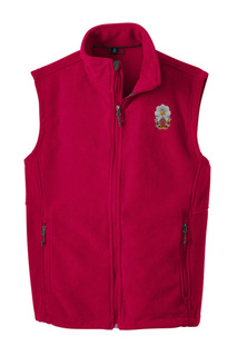 Phi Sigma Kappa Fleece Crest - Shield Vest