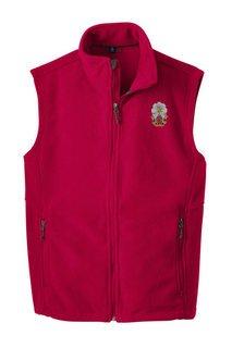 Phi Sigma Kappa Fleece Crest - Shield Vest
