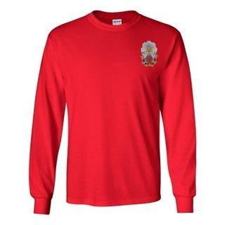 DISCOUNT-Phi Sigma Kappa Fraternity Crest - Shield Longsleeve Tee