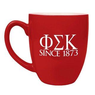 Phi Sigma Kappa Greek Bistro Mug