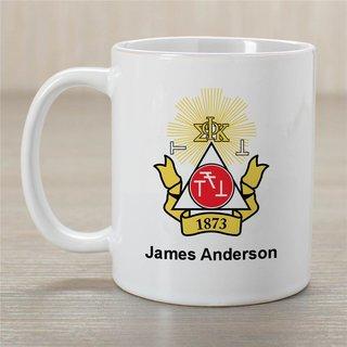Phi Sigma Kappa Greek Crest Coffee Mug - Personalized!