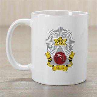 Phi Sigma Kappa Greek Crest Coffee Mug