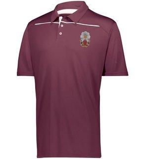 Phi Sigma Kappa Greek Crest Emblem Defer Polo