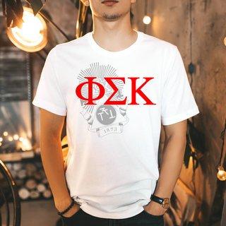 Phi Sigma Kappa Greek Crest - Shield T-Shirt