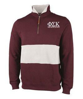 Phi Sigma Kappa Greek Letter Quad Pullover