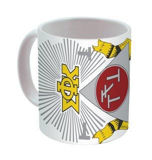 Phi Sigma Kappa Mega Crest - Shield Coffee Mug