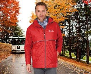 Phi Sigma Kappa Men's New Englander� Rain Jacket