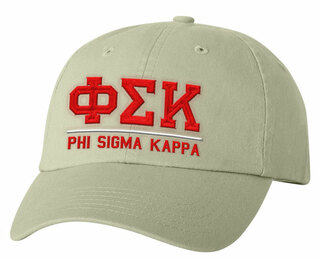 Phi Sigma Kappa Old School Greek Letter Hat