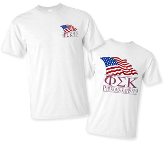 Phi Sigma Kappa Patriot Limited Edition Tee- $15!