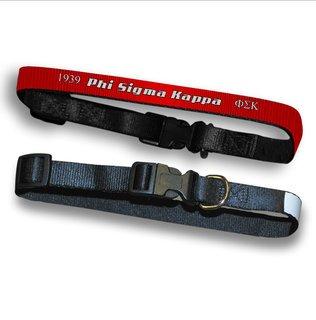 Phi Sigma Kappa Pet Collar