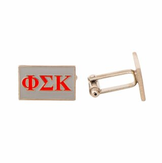 Phi Sigma Kappa Rectangle Cuff Links