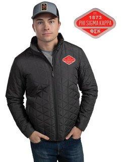 Phi Sigma Kappa Repreve ECO Jacket