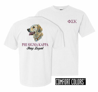 Phi Sigma Kappa Stay Loyal Comfort Colors T-Shirt