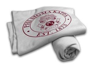 Phi Sigma Kappa Sweatshirt Blanket