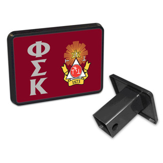 Phi Sigma Kappa Trailer Hitch Covers