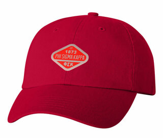 DISCOUNT-Phi Sigma Kappa Woven Emblem Hat