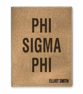 Phi Sigma Phi Cork Portfolio with Notepad
