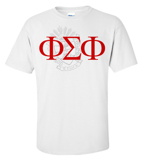 Phi Sigma Phi Crest - Shield Tees