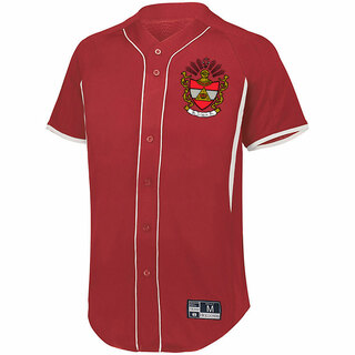 Phi Sigma Phi Game 7 Full-Button Baseball Jersey