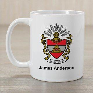 Phi Sigma Phi Greek Crest Coffee Mug - Personalized!