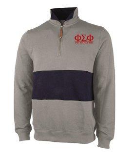 Phi Sigma Phi Greek Letter Quad Pullover