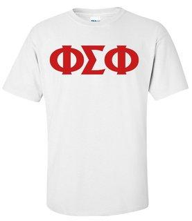 Phi Sigma Phi Greek Letter Tee