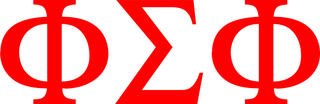 Phi Sigma Phi Greek Letter Window Sticker Decal