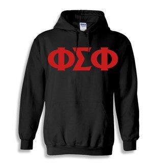Phi Sigma Phi Greek Lettered Hoodie