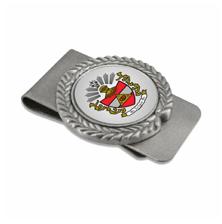 Phi Sigma Phi Pewter Money Clip