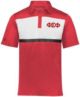 Phi Sigma Phi Prism Bold Polo