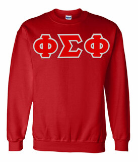 Phi Sigma Phi Lettered Crewneck