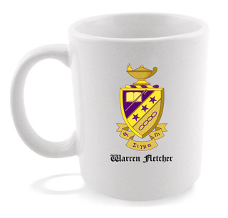 Phi Sigma Pi Crest - Shield Coffee Mug