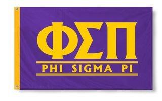 Phi Sigma Pi Custom Line Flag