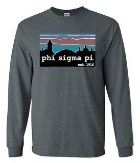 Phi Sigma Pi Est Long Sleeve T-shirt