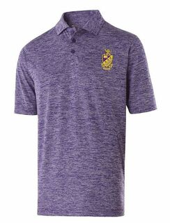Phi Sigma Pi Greek Crest Emblem Electrify Polo