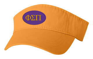 Phi Sigma Pi Greek Oval Heavy Visor