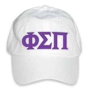 Phi Sigma Pi Letter Hat