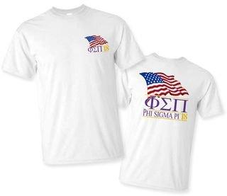 Phi Sigma Pi Patriot Limited Edition Tee- $15!