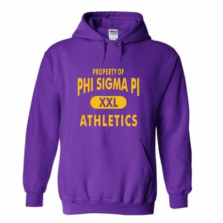 Phi Sigma Pi Property Of Athletics Hoodie