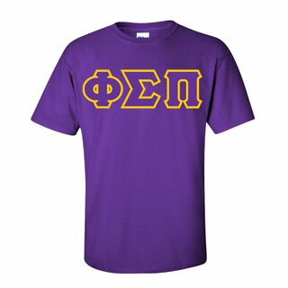 Phi Sigma Pi Sewn Lettered T-Shirt