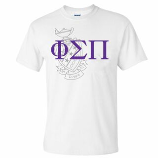 Phi Sigma Pi World Famous Crest - Shield Tee- $14.95!