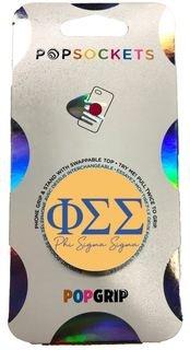 Phi Sigma Sigma 2-Color PopSocket
