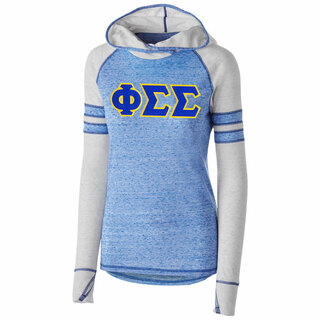 DISCOUNT-Phi Sigma Sigma Advocate Lettered Hoody