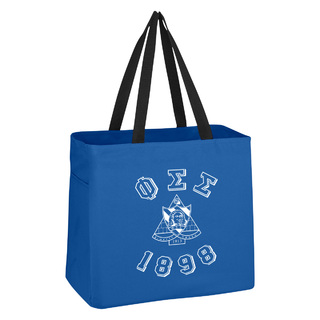 Phi Sigma Sigma Block Crest - Shield Cape Town Bag