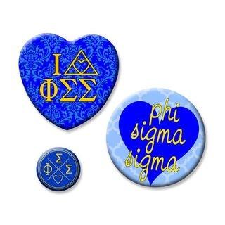 Phi Sigma Sigma Button Set