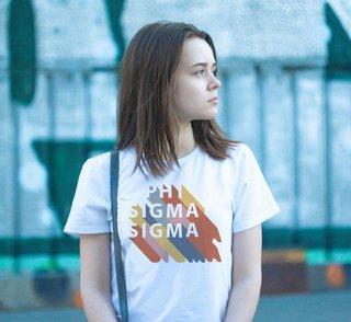 Phi Sigma Sigma Califonic Tee - Comfort Colors