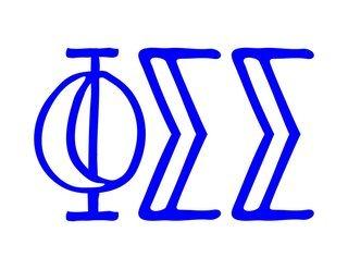 Phi Sigma Sigma Carson Greek Sticker