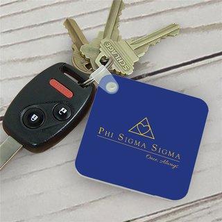 Phi Sigma Sigma Mascot Key Chain