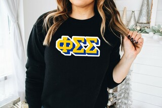 Phi Sigma Sigma City Greek Sweatshirt