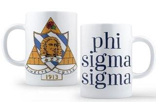 Phi Sigma Sigma Crest - Shield Coffee Mug